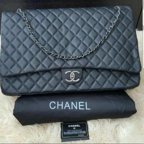 32ad25491fb8 Bags | Chanel Travel Xxl Weekender Bag | Poshmark